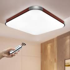 Alte Wohnzimmerlampen Natsen 27w Led Deckenlampe Braun Deckenleuchte Modern Wandlampe