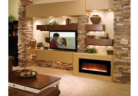 Electric Wall Mounted Fireplace Fire Pit Essex Inch Crystal Electric Wall Mounted Fireplace Black