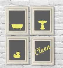 yellow and grey bathroom decorating ideas yellow and gray bathroom home decor prints you are my