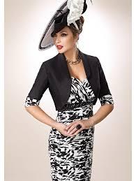 black and white dresses zeila 3019202 black and white dress bolero we the monochrome