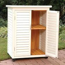 diy outdoor storage cabinet stylish diy outdoor storage cabinet finished diy furniture garden