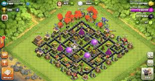 coc layout builder th8 which farming base is the best