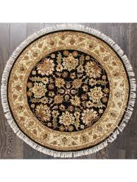 Black Round Rug Buy Round Rugs And Carpets Online At Lowest Price In Usa Rugsville