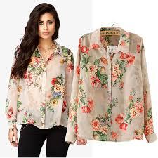womens tops and blouses fashion blouse silk floss leopard print shirt