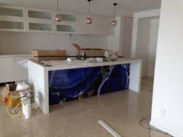printed glass splashbacks for front of kitchen island bench