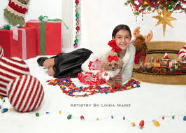 down christmas portrait artistry by linda marie newborn