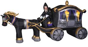 inflatable halloween cat airblown inflatables reaper on 3wheeler