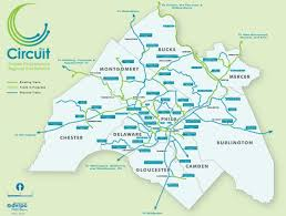 Philadelphia Neighborhood Map The Circuit Trails U2013 Greater Philadelphia U0027s Regional Trail Network