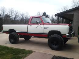 dodge mud truck 88 w100 2 5 ton mud truck dodge ram ramcharger cummins jeep
