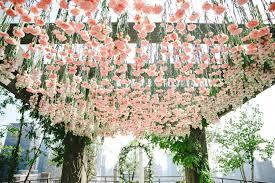 wedding arch nyc blossom nyc wedding florist upscale wedding flowers
