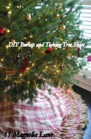 top 10 festive diy christmas tree skirts top inspired