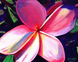 Plumerias Pink Plumeria Etsy