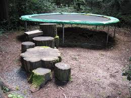 trampoline cartoon farmlet