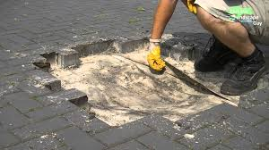 Sand For Patio Pavers by Laying A Stone Paver Patio Laying Patio Pavers Over Concrete