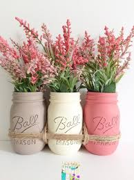Mason Jar Home Decor Ideas These Pretty Diy Mason Jars Make Easy And Inexpensive Home Decor