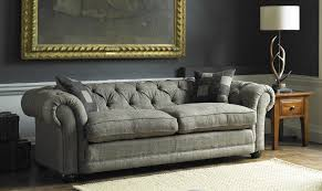 harris tweed castlebay sofa
