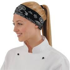 bandana cuisine tenues chef et cuisine a la cuillere