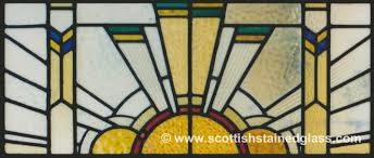 custom art deco stained glass