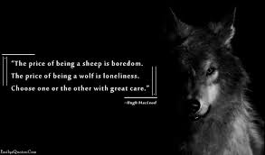 Lone Wolf Meme - he is a lone wolf out of one s comfort zone
