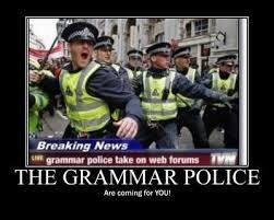 Spelling Police Meme - grammar police divine secrets of the yaarkshire sisterhood