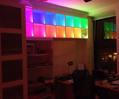 color changing shelves with led strips and arduino 5 steps