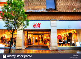H M Home Store by H U0026m H U0026 M Shop Sign Store Entrance Fashion Clothes Cheap Exterior