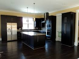 what color wood floors go with espresso cabinets 22 beautiful kitchen colors with cabinets home design