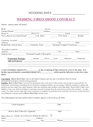 Free Event Planner Contract Template Sample Wedding Photography Contract Template Wedding Contract