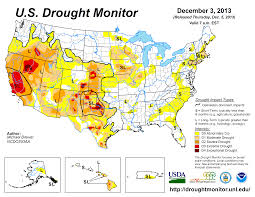 Current Wildfire Map Oregon by Drought November 2013 State Of The Climate National Centers