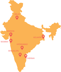 Hyderabad India Map by United Way Of Mumbai