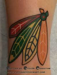 great chicago blackhawks tattoo i need this done tattoos