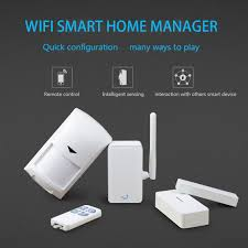 smart home systems broadlink s1c wifi smart home control wireless remote control home