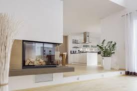 Offenes Wohnzimmer Modern Kamin Mehr Architettura Arredamento E Design Pinterest