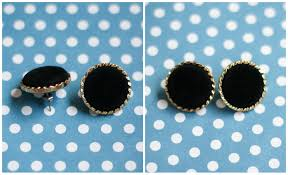 diy button earrings button earrings the crafted