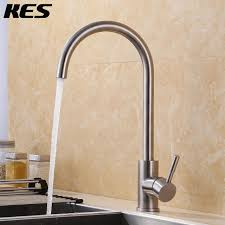 Lead Free Kitchen Faucets Kes Single Lever Lead Free Kitchen Faucet With High Arc Swivel