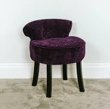 Tall Vanity Stool Purple Vanity Seat Vanity Decoration
