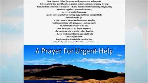 prayer for financial help