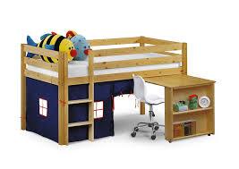 Julian Bowen Wendy Single Sleeper Bed Amazoncouk Kitchen  Home - Mid sleeper bunk bed