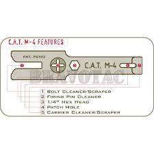 cat m4 ar15 multi cleaner tool for bcg bolt carrier u0026 firing pin