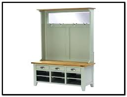 coat rack with bench and storage interior metal entryway storage