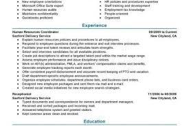 Hr Generalist Resume Examples by Hr Generalist Resume Sample Microsoft