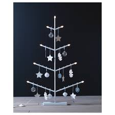 vinter 2017 hanging decoration star white 9 cm 6 pack ikea