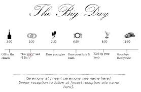 wedding itinerary template for guests free wedding schedule template 26 wedding itinerary templates free