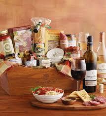 italian gift baskets pasta gift basket italian gift baskets harry and david