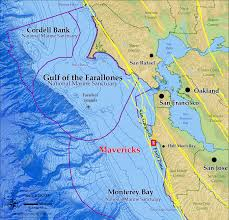california map half moon bay mavericks maps and flythrough animation