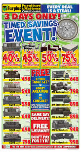 kitchener surplus furniture surplus furniture and mattress warehouse canada flyers