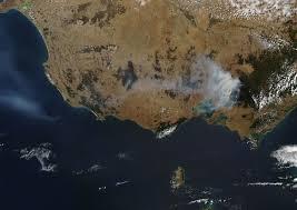 Satellite Maps 2015 Map Of Australia Bushfires