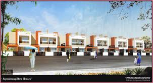 Modern Row Houses - shah builders nasik road constructing elegant commercial