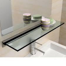 etagere en verre pour cuisine support pour étagère et tablette en verre igs déco
