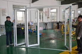 Bi Folding Glass Doors Exterior Excellent Folding Door Usa Contemporary Ideas House Design